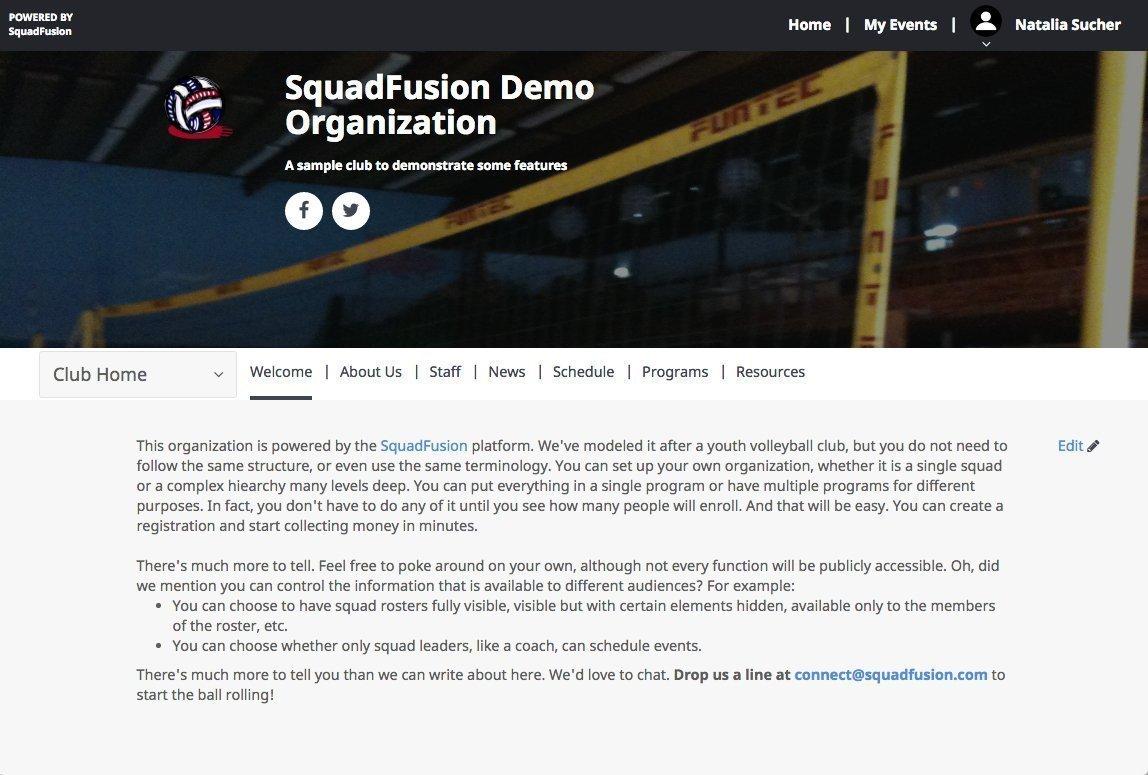 Squadfusion Best Sports Management Programs - Team Management