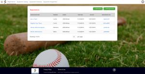 Simplify Sports League Registration